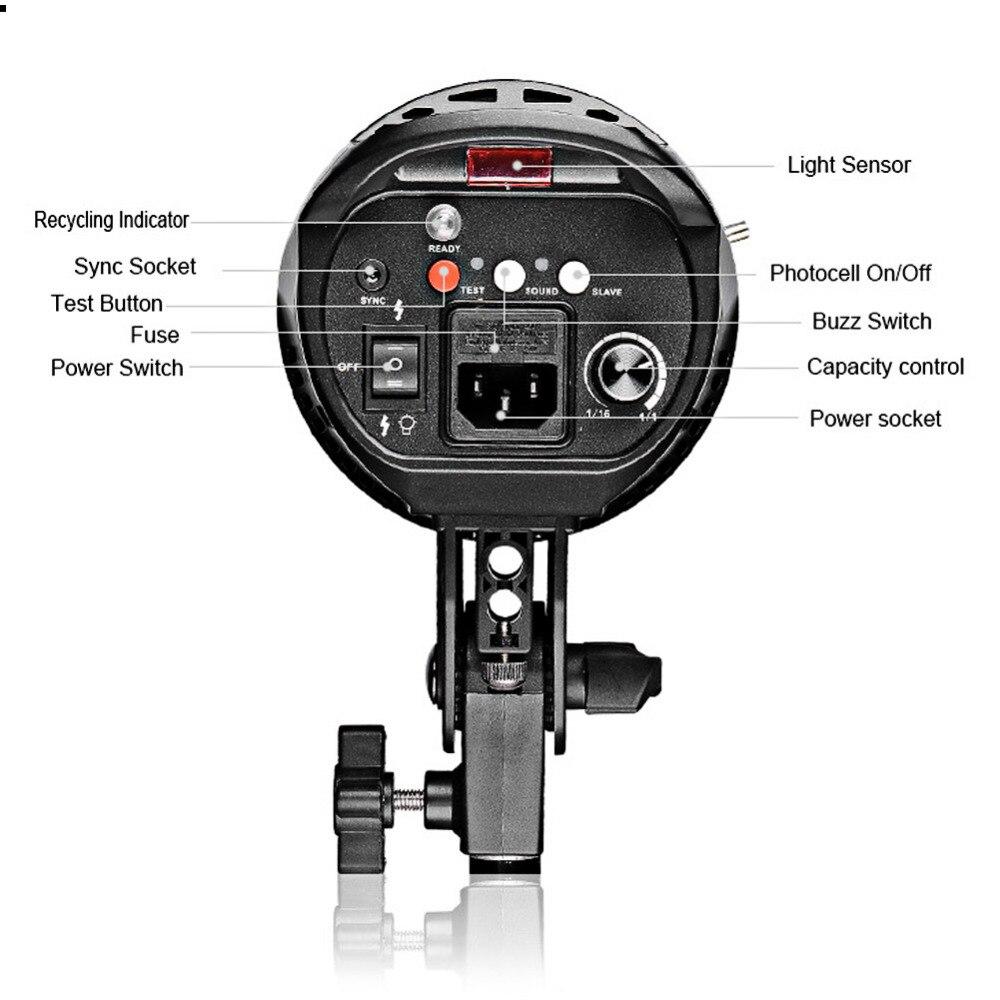 Luz de Flash de la foto de 540W Kit fotografía iluminación estroboscópica de est