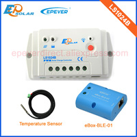 LS1024B PWM with bluetooth function Solar battery charger controller temperature sensor 10A 10amp
