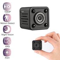 HBUDS Mini DV Camera Small Camera 1080P Full HD Portable Mini Video Camera with IR Night Vision & Motion Detection