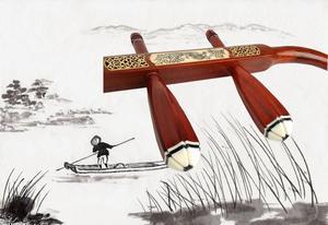 Image 3 - הסיני סוז erhu באיכות מהגוני עצם גילוף erhu מקצועי דו מייתר כלי נגינה סיני Erhu