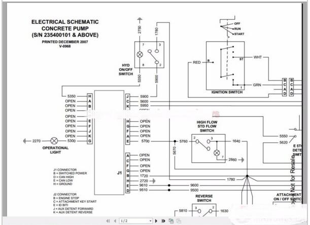 Bobcat Schematics Manual Full Set Dvd on bmw e30 instrument cluster wiring diagram