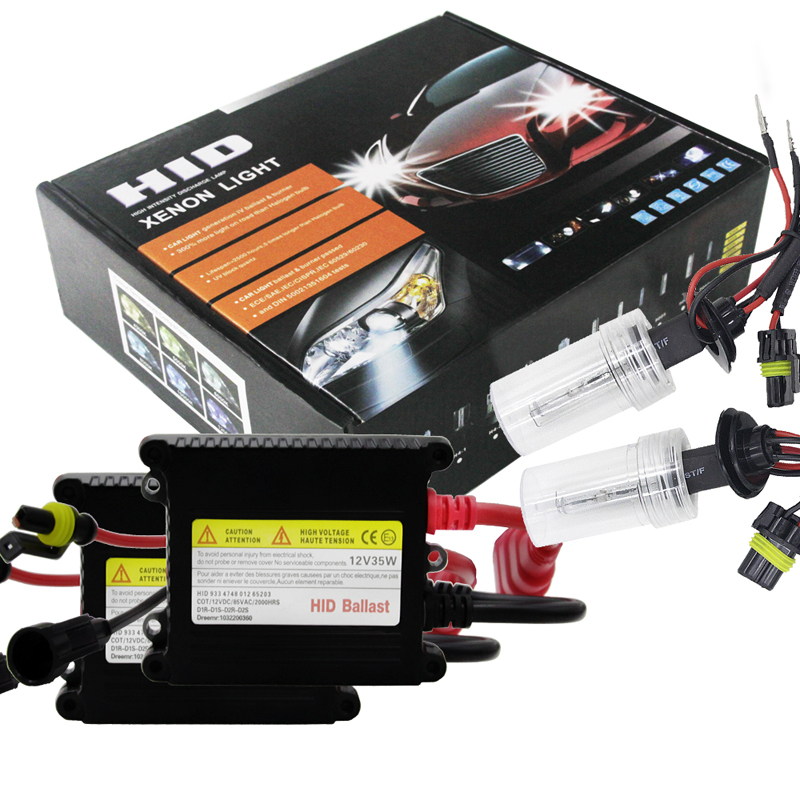 WUPP Car Hid Xenon Kit Car Hid Lighting DC 12V 35W 8000K HID Xenon Bulb With Slim Ballast H27/ 880/ 881 Car Xenon Headlight digitalboy dc 35w hid ballast block kit 880 xenon bulb h27 881 car conversion headlight lamp 5000k 6000k 8000k xenon hid bulbs