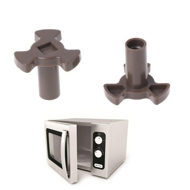 2 uds Universal plataforma giratoria para microondas acoplador placa soporte conducir engranaje herramientas