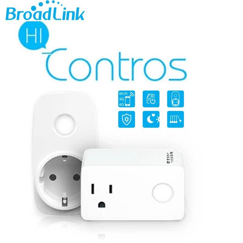 2018 Broadlink SP3 Wifi Smart Socket AB ABŞ Wifi Güc Soket Taymeri ilə Smart Uzaqdan Simsiz İdarəetmə Alexa ilə işləyir