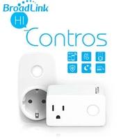 2018 Broadlink SP3 Wifi Smart Socket EU US Wifi Power Socket Plug With Timer Smart Remote Wireless Control Works with Alexa