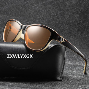 2020 Luxury Brand Design Cat Eye Polarized Sunglasses Men Women Lady Elegant Sun Glasses Female Driving Eyewear Oculos De Sol