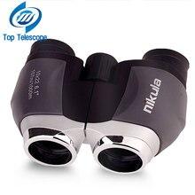 Discount! Genuine telescope nikula 10×22 hd binoculars for fishing portable outdoor fun sports game concert telescopio spotting scope mini
