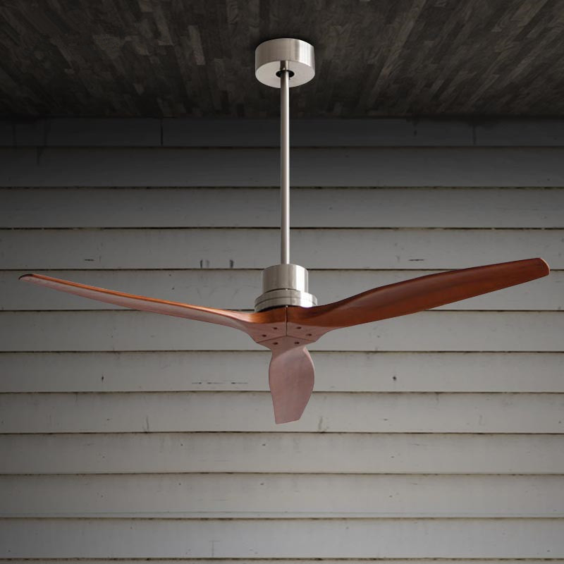 Cheap Ceiling Fans Review: Modern Nordic Dining Room Ceiling Fan With Remote Control
