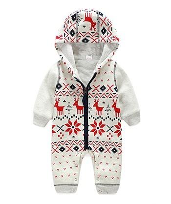 Unisex bebê recém-nascido macacão de algodão inverno natal menino roupas ropa bebes mameluco macacão disfraz navidad bebe barboteuse