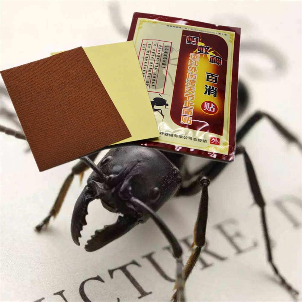 DISAAR الروماتيزم التهاب المفاصل الطبية النار النمل زيت طبيعي لتخفيف الآلام  التصحيح التقليدية العشبية الركبة/الرقبة/آلام الظهر الجص العشبية النفط النمل  النفطالنفط الضروري - AliExpress