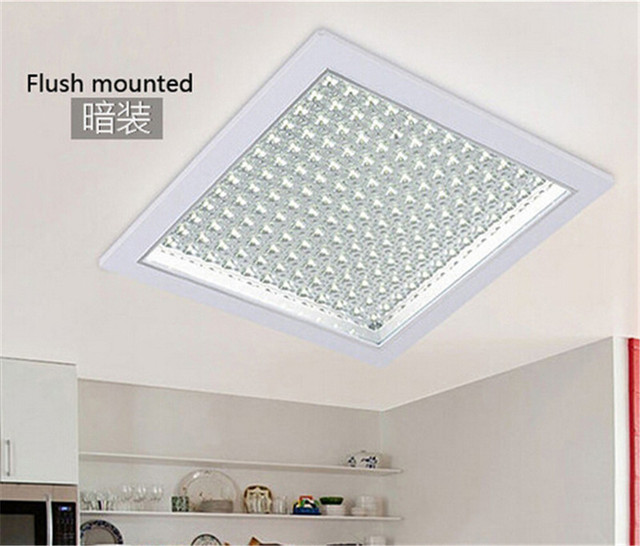 Us 29 9 Modern Square Round Led Kitchen Ceiling Lamp Warm Cold White For Foyer Dy1122 1 In Lights From
