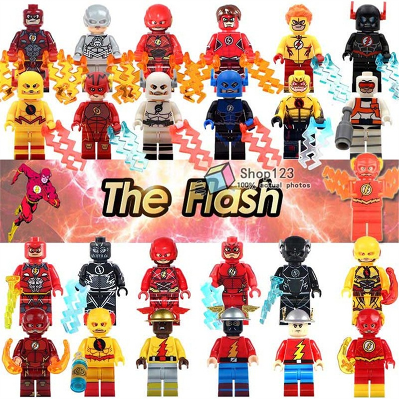 Marvel super heroes legoings the flash the avengers super heroes building blocks collection - Flash le super heros ...