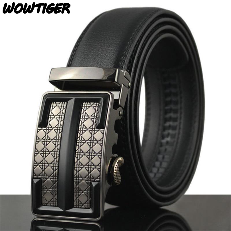 WOWTIGER belt new bales catch High-quality men belt Free shipping belt for men 110cm-130cm