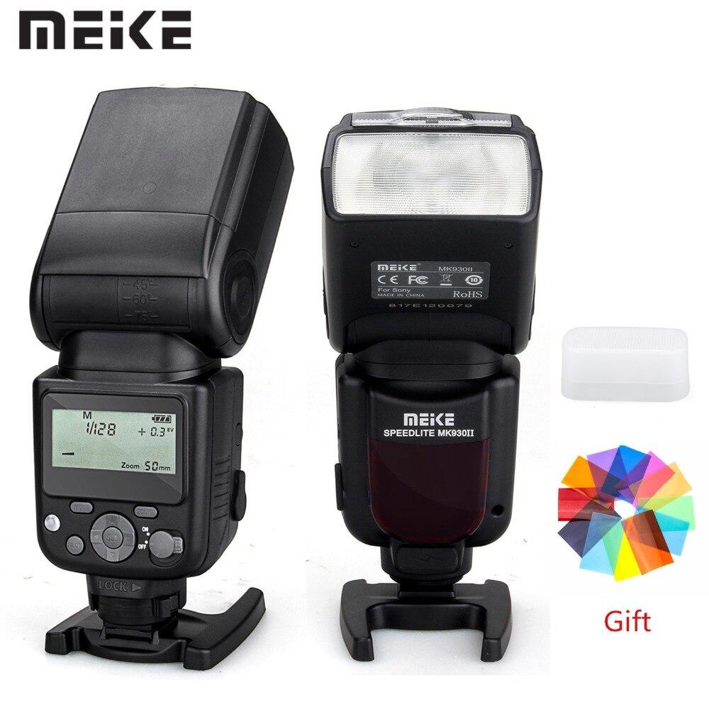 MEIKE MK 930 II Flash Photo Speedlite For Sony DSLR Camera A7 A7R A7S A7 II