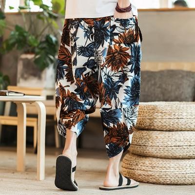 Полосатые спортивные штаны с трафаретным принтом, уличные мужские спортивные штаны с эластичной талией, спортивные штаны для бега - Цвет: color9