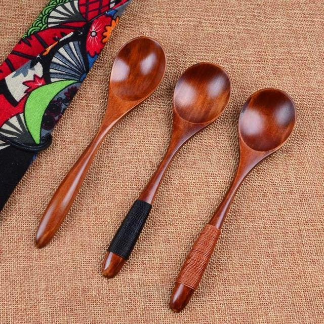 Universal Durable Eco-Friendly Wooden Spoon
