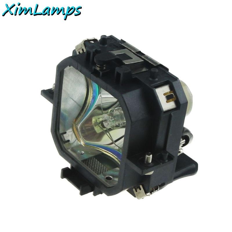 ELPLP18/V13H010L18 замена проектора голой лампы с Корпус/чехол для EPSON EMP 530/emp720/EMP 730 простота установки