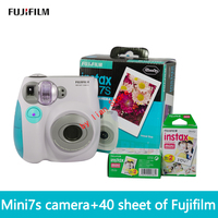Free Shipping Of Fujifilm Instax Mini 7S Film40 New Suite Fuji Camera Automatic Timer Lomo Film