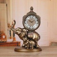 Meijswxj N Clock Saat Reloj Desk Clock Bracket Bedside Mute Retro Table Clocks Relogio Reveil Masa saati Relogio de mesa Watch