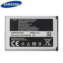 Original Samsung AB463651BC Battery For Samsung J800 S3650 S7070 S5608 S3370 L700 C3222 B3410 W559 S5628 F339 960mAh samsung original replacement battery ab463651bu for samsung w559 s5620i s5630c s5560c c3510 f339 j800 genuine battery 960mah