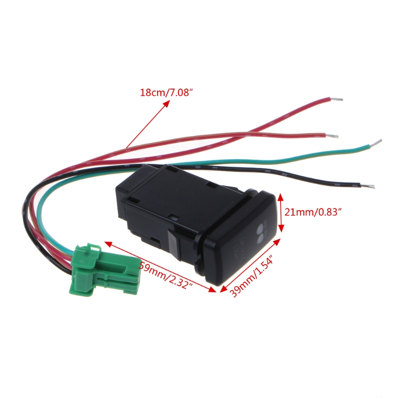 Astonishing Car Fog Light Switch Wire Laser Button Switch For Toyota Prado Wiring Cloud Tziciuggs Outletorg