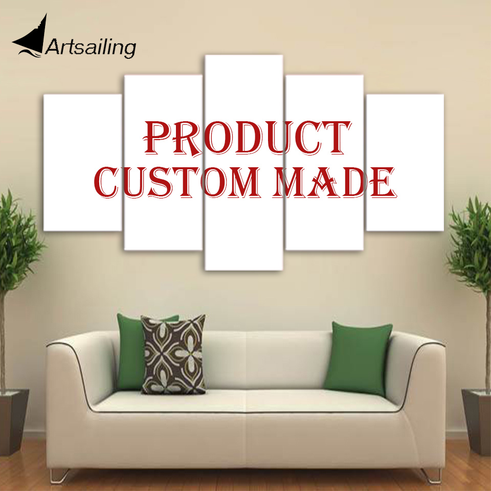 Impresión personalizada personalizado pintura cuadros para sala de estar pintura personalizada impresión personalizada sobre lienzo Artsailing gota libre del lugar