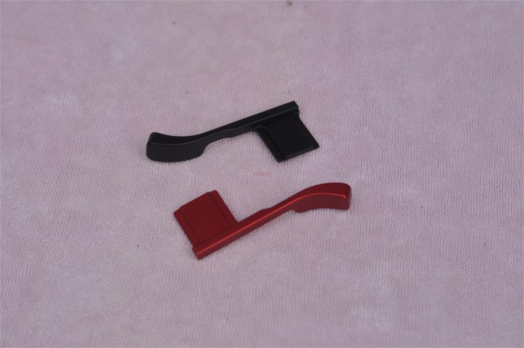 Metel Thumb Up Hot Shoe Hand Grip Hotshoe Bracket For Fujifilm Fuji XE3 X-E3 Camera Black Red