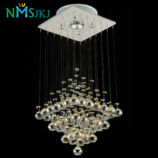 Modern led small crystal chandeliers lighting for bedroom bathroom modern led small crystal chandeliers lighting for bedroom bathroom kitchen hallway ceiling lamp hanging lamp mozeypictures Gallery