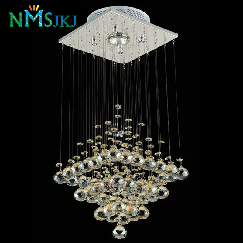 Modern Led Small Crystal Chandeliers Lighting For Bedroom Bathroom Kitchen Hallway Ceiling Lamp Hanging Lamp