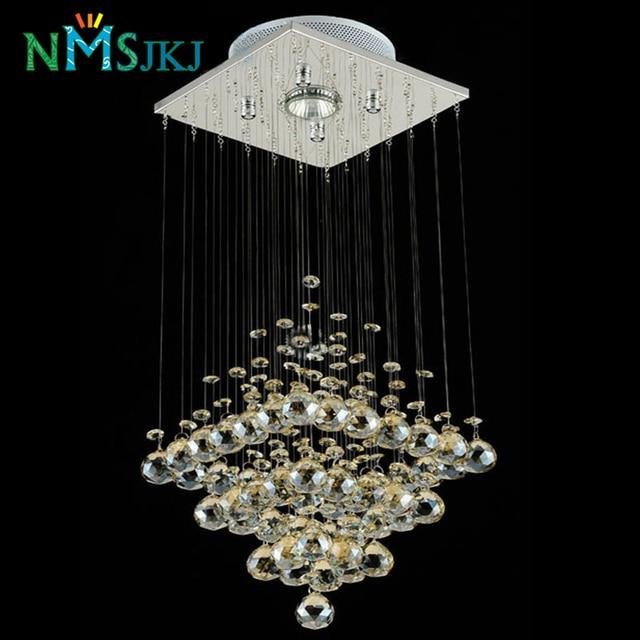 Charmant Moderne LED Kleine Kristall Kronleuchter Beleuchtung Für Schlafzimmer  Badezimmer Küche Flur Decke Lampe Hängelampe