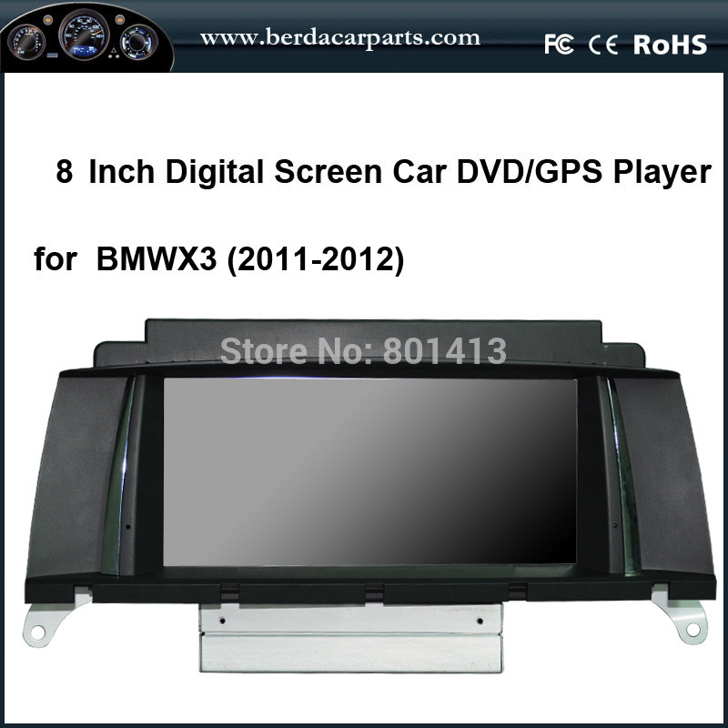 Car DVD/GPS player for BMW X3 (2011-2012)