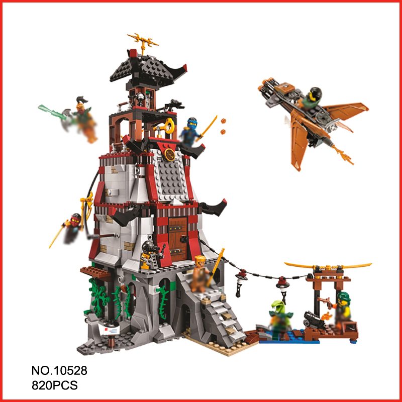 New Ninja The Lighthouse Siege 10528 Model Building Blocks Kit Children Toys Bricks Christmas Gifts Compatible With lepin 70594