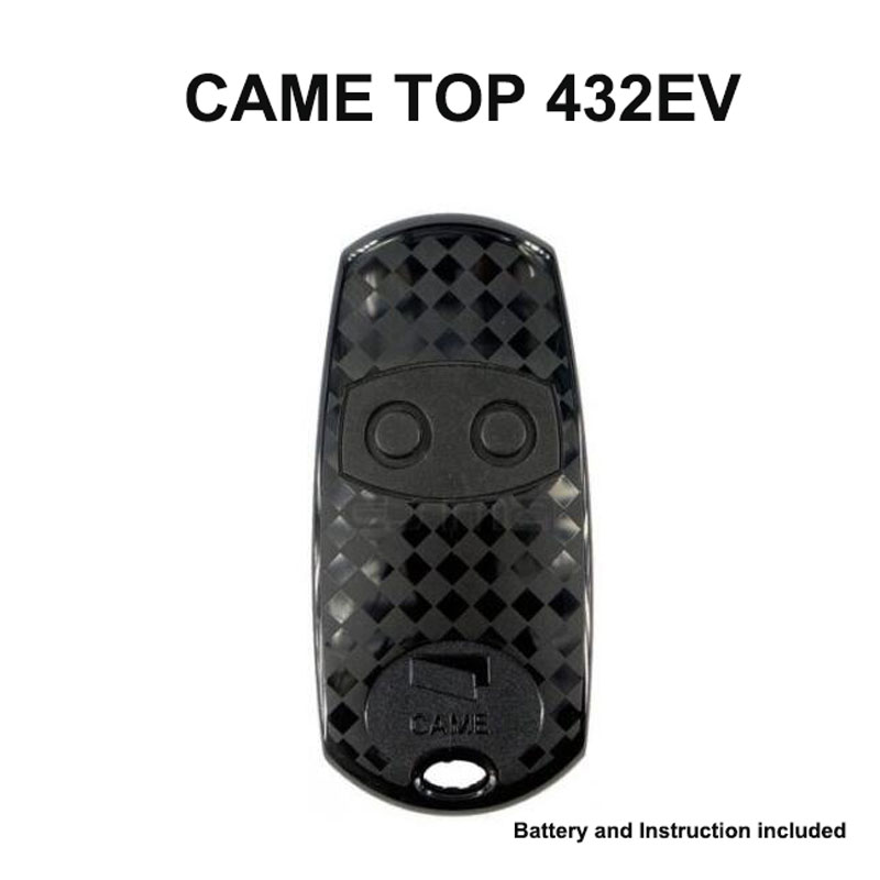 CAME TOP 432EV 2 channel Cloning compatible Remote Control transmitter 433MHz cloning