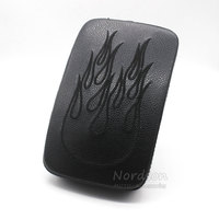FOR HARLEY CUSTOM CHOPPER MOTORCYCLE REAR PILLION PASSENGER PAD SEAT 6 SUCTION CUP Custom Chopper