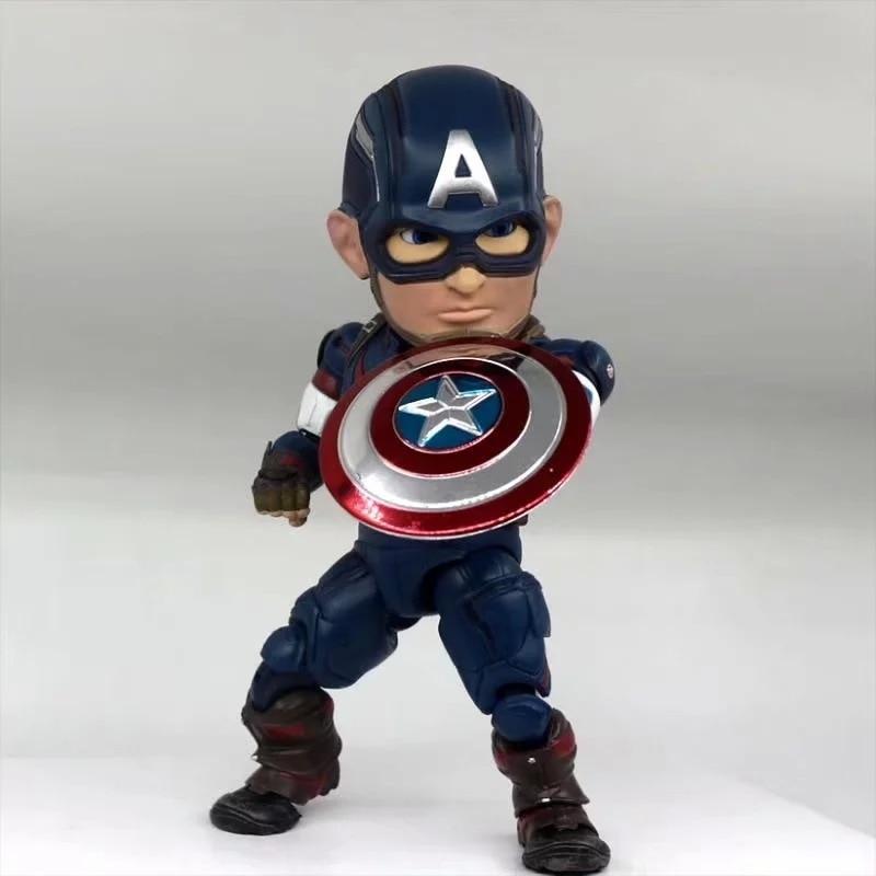 Figurine de film 18 CM Avengers oeuf attaque Captain America EAA-011 6 pouces PVC Figure modèle jouets à collectionner cadeau