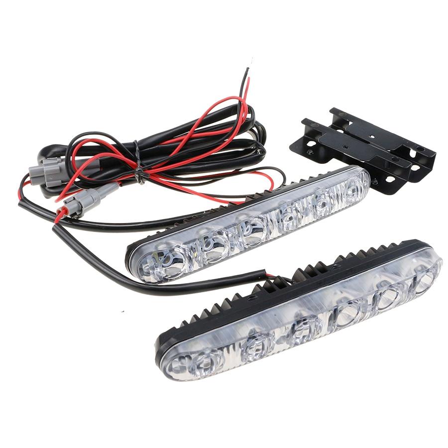 GEETANS 6 LED Φως ημέρας Φως υψηλής / - Φώτα αυτοκινήτων - Φωτογραφία 3