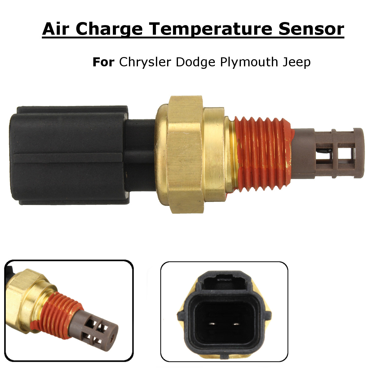Air Charge Temperature Sensor for Chrysler Dodge for Jeep 56027872 5S1025