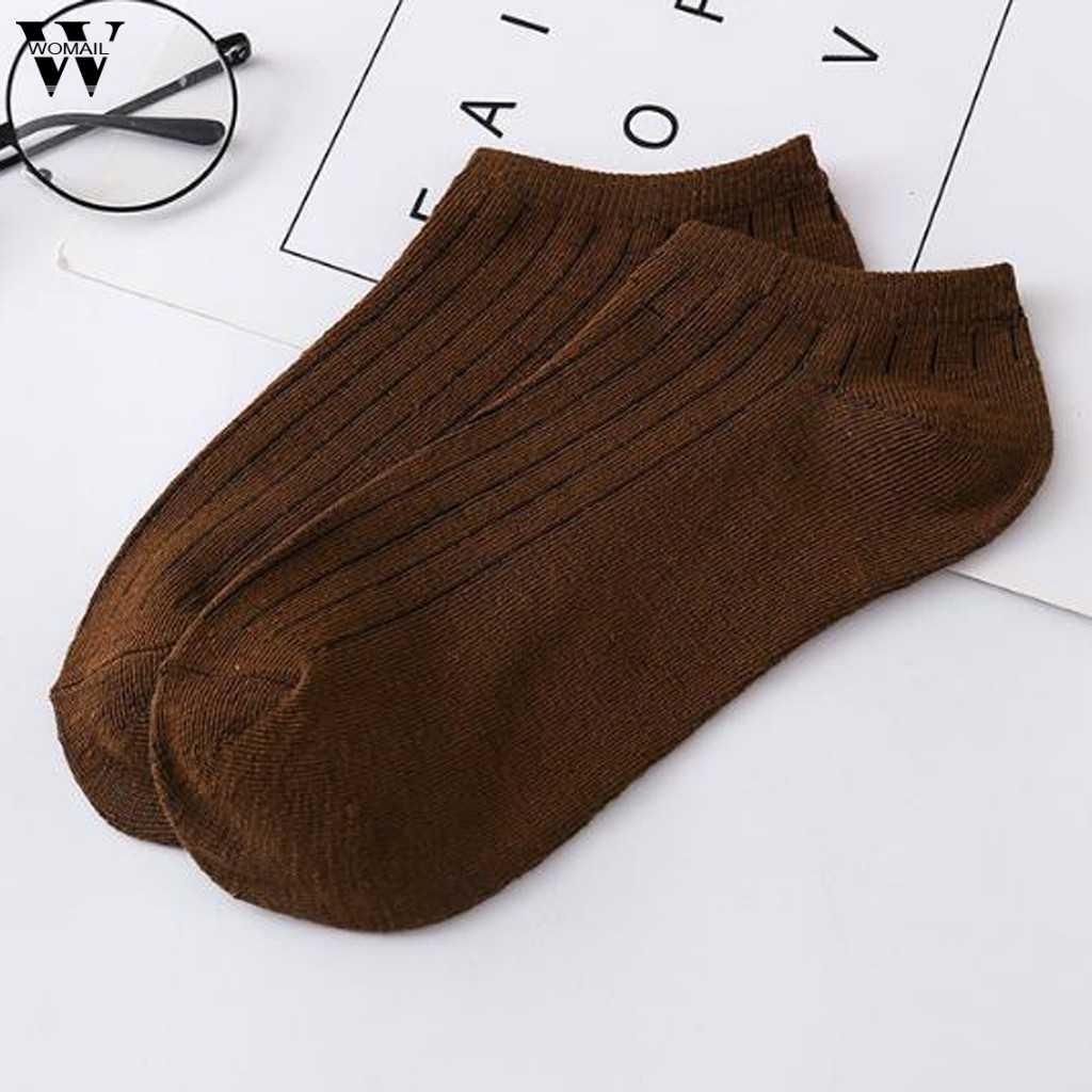 חם יוניסקס גברים ונשים גרבי נוח פס הקיץ דק כותנה נעלי בית גרב קצר גברים של גרבי קרסול