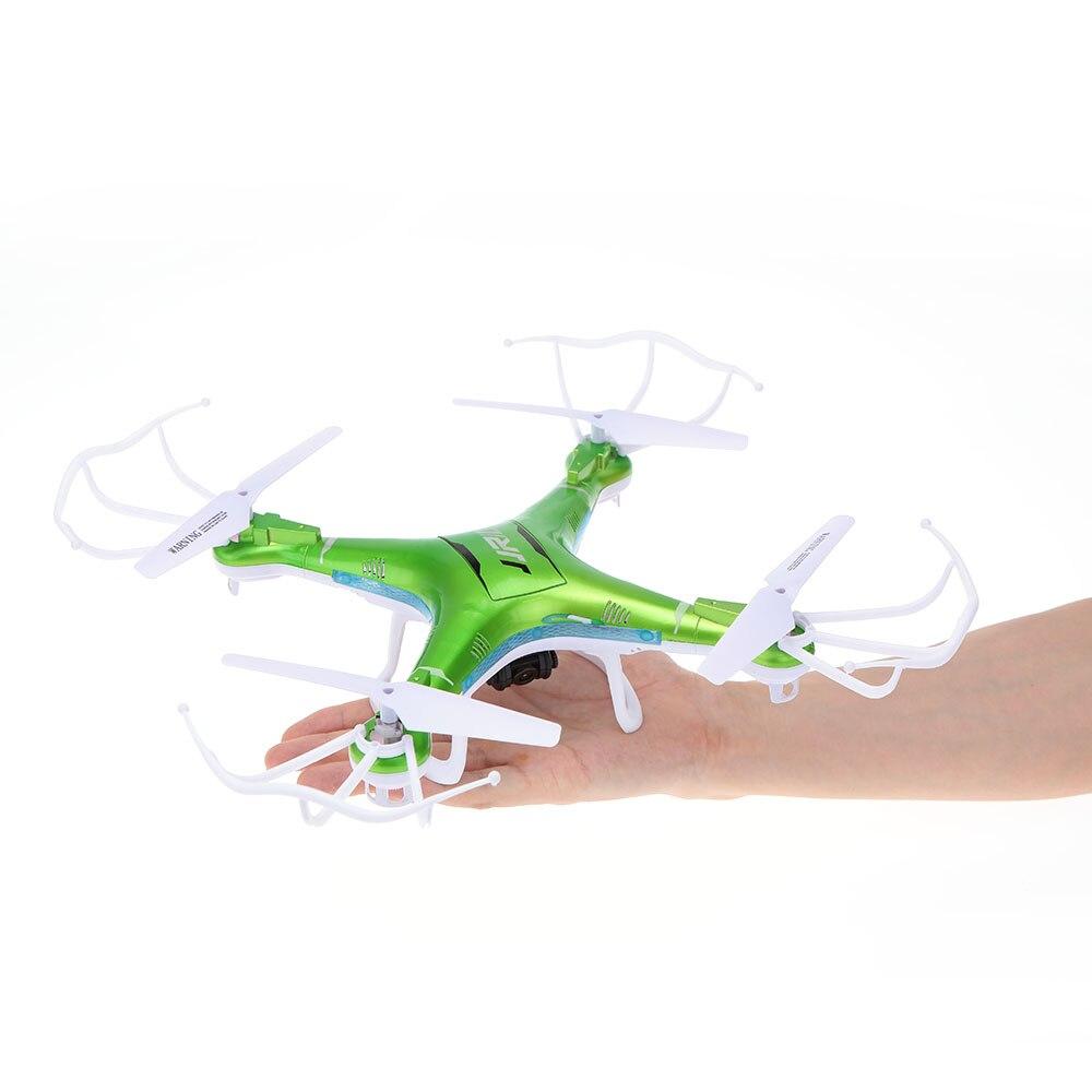 JJR/C H5P 2.4G Giroscópio Eixo 6 Headfree Um Retorno 3D Roll RC Quadcopter com 2.0MP HD câmera Zangão Multicopter