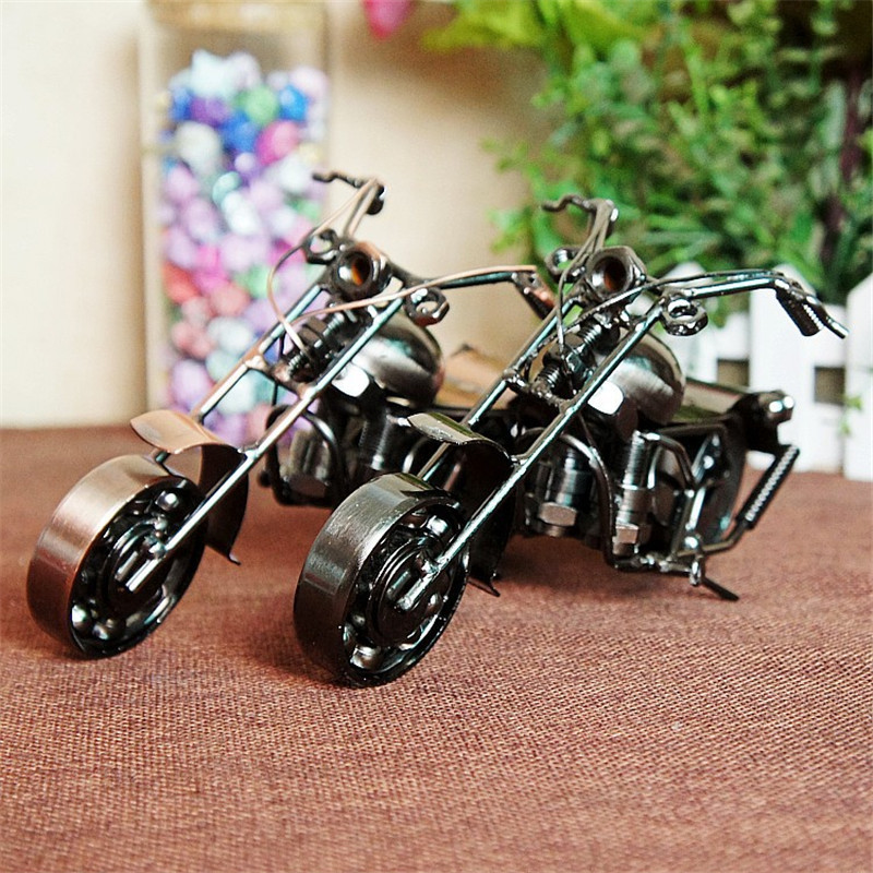 Iron crafts metal ornaments decorations gifts Prince motorcycle model M9 two colors optional