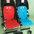 Originales Accesorios Colchoneta Cojín Del Asiento Del Cochecito de Bebé Maclaren Maclaren Bebé Portadores de Ambos Lados Para Usar Diferentes Temporada