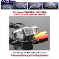 Liislee Achteruitrijcamera Voor Acura CSX RDX/ILX/ZDX/CL/EL Intelligent Parking Tracks Reverse Dynamische Begeleiding Tragectory
