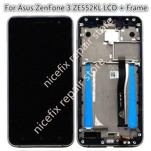 Image 2 - Voor Asus Zenfone 3 ZE552KL Lcd Display Touch Screen Digitizer Vergadering Met Frame Voor ZE552KL Z012D Z012DC Z012DA Lcd