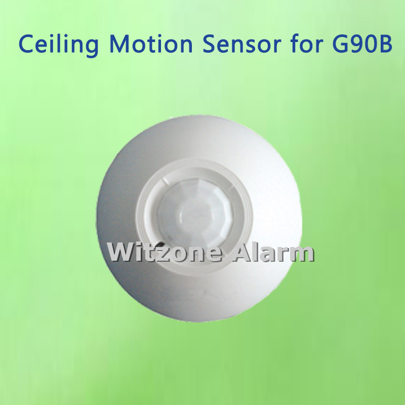Alarm Sensor Wireless Ceiling Mounted PIR Sensor Motion Detector for GS-G90B, free shipping xinsilu wireless intelligent pir motion sensor gs wms0 with build in tamper switch for g90b wifi alarm system