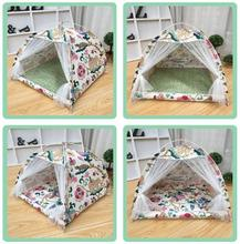 Free shipping washable Portable Foldable Pet Tent Playpen Outdoor Indoor Tent For Cat Small Dog Puppy Tents Cats Nest Toy House free shipping hotcakes 8x8x4m customized colors inflatable lawn wigwam tent with blower for toy tent