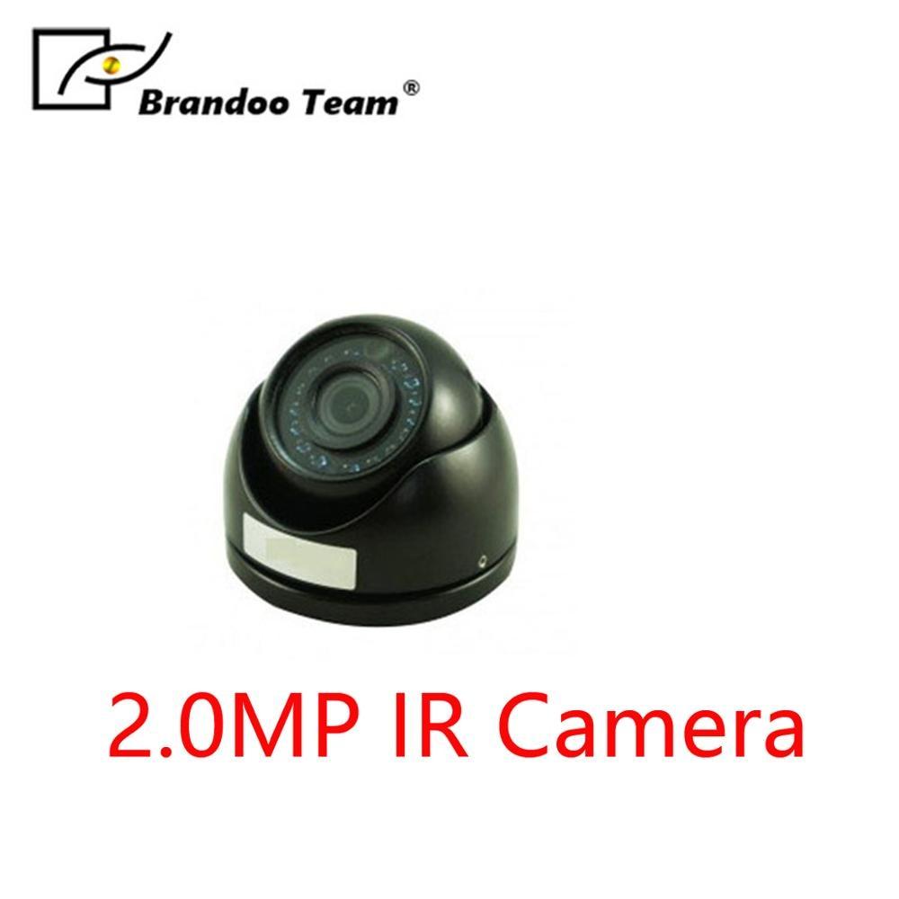 BRANDOO Mini IR camera CCTV Camer 2.0MP DOME Camera Designed for car taxi
