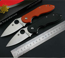 Hot Spider Folding Blade Knife  8Cr13Mov Blade Survival Knives Hunting Tactical Knifes G10 Handle Camping Outdoor Tools CTS