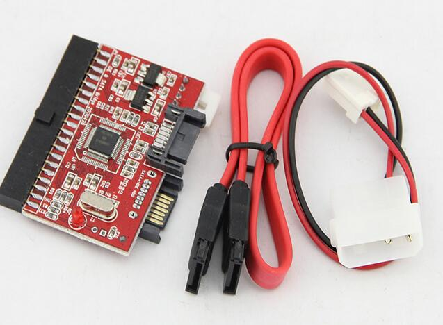 IDE 40pin to 7pin SATA Converter SATA to 3.5 IDE Adapter Serial Parallel Port Bidirectional Converter Card JM Chipset
