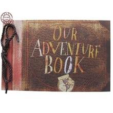 Our Adventure Book, Pixar UP Movie Scrapbook, DIY Wedding Photo Album, Anniversary Gifts