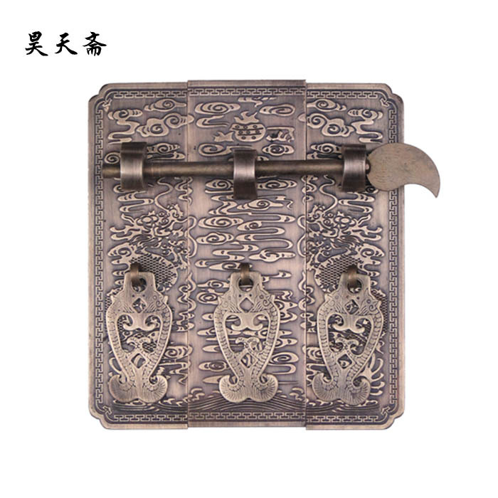 [Haotian vegetarian] copper straight handle / top box wardrobe handle HTC-166, paragraph Yunlong[Haotian vegetarian] copper straight handle / top box wardrobe handle HTC-166, paragraph Yunlong